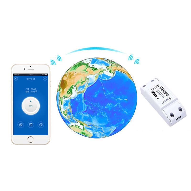 1/10PC Sonoff basic Wifi Switch Universal for Smart Home Wif Switch Automation Module Timer Diy Remote Controller for iphone ios